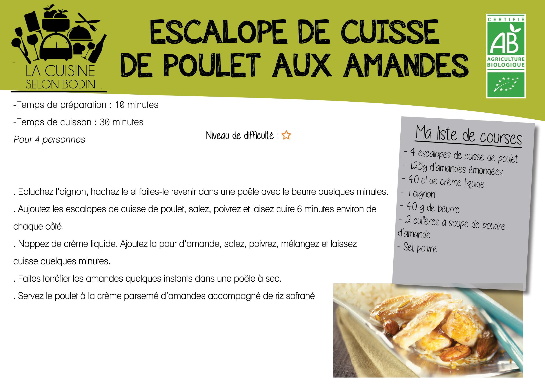 2d840c11205 ... ESCALOPE DE CUISSE DE POULET ...